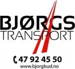 BJØRGS BUDBIL OG TRANSPORT «din transportør i hverdagen»